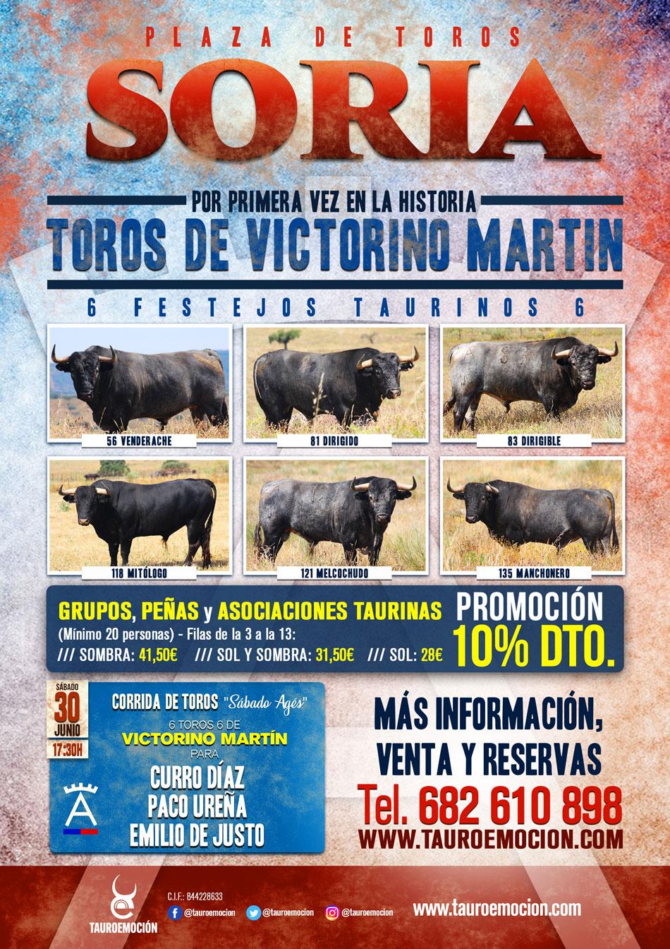 Cartel Victorinos SORIA