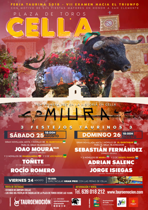 Cartel CELLA 2018